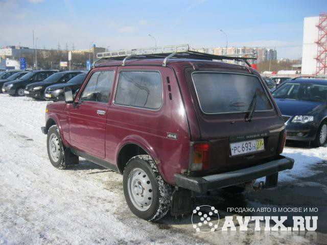 ВАЗ 2121 (Нива) 4x4 Москва