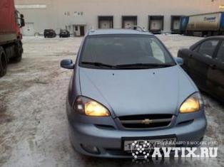Chevrolet Rezzo Москва